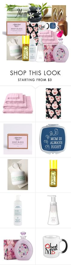 """""""Roses 4 mom"""" by lerp ❤ liked on Polyvore featuring beauty, Designers Guild, PBteen, Mario Badescu Skin Care, Aveda, Method and Sigma"""