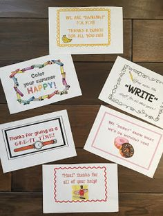 Jean has four decades of experience making teaching and learning more FUN! Thank You To Parents, Parent Volunteers, Kudos To You, Preschool Gifts, Character Education, Life Savers, Paper Cutting, More Fun, Thank You Cards