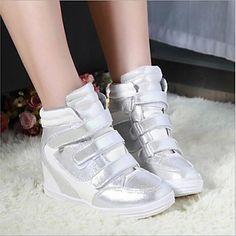 zapatos zapatillas de deporte de moda los zapatos de plataforma de tacón de cuña de las mujeres más colores disponibles – EUR € 19.18