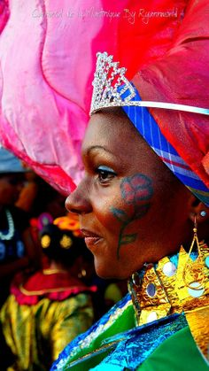 Portrait by Melle Carnaval De Martinique  on 500px