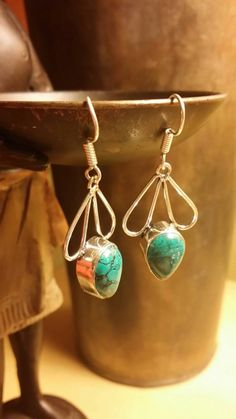 Check out this item in my Etsy shop https://www.etsy.com/listing/253664895/turquoise-925-sterling-silver-drop