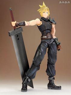 Play Arts Kai - Dissidia Final Fantasy: Cloud Action Figure