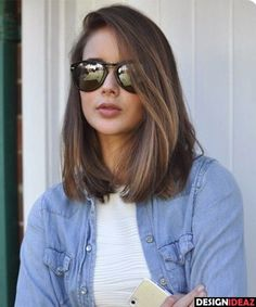 50 Ultra Sizzling Medium Haircuts for Women 2017