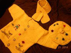 kız bebek, kız bebek Sweather, erkek hırka, kız ceket, erkek ceket, sarı Sweather, erkek bere, kız bere için fantezi hırka