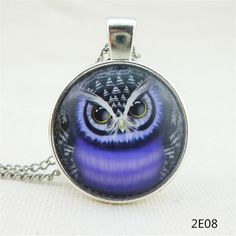 Best price on Fashion lovely vintage colorful cute OWL necklace & pendants…