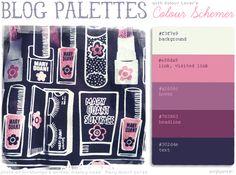 Colour Schemer - pick colour schemes from your own photos! Thanks Annie!