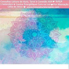 Estarei presente na SUIÇA para consultas presenciais <3 1 Setembro. Venha conhecer-se <3 www.treenaturaterapias.com