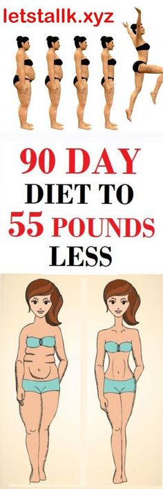 90 DAY DIET TO 55 POUNDS LESS!