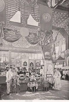 Ottoman Exhibitions at the Chicago World fair - 1893
