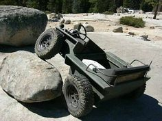 '65 Coot Articulated 4x4 Amphibian ... never heard of it or seen it, but I want one. Apparently bulit from '63-85.