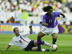 Remembering Ronaldinho's magic with the ball at his feet