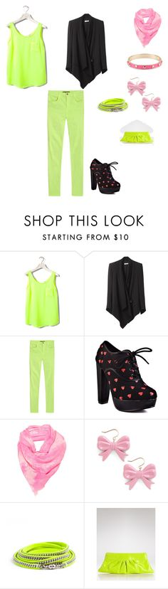 """""""A Little Touch of Pink"""" by pknowledge ❤ liked on Polyvore featuring Pull&Bear, Helmut Lang, J Brand, Iron Fist, Swedish Hasbeens and Lauren Merkin"""