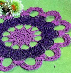 Tecendo Artes em Crochet: Três Lindas Toalhinhas com Gráficos para Vocês!