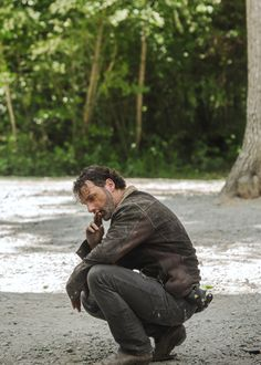 Rick Grimes in The Walking Dead 7.01: 'The Day Will Come When You Won't Be'