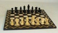 Black & White Artisan Chess Set