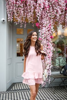 fbbb4224 44 Best PINK DRESS CASUAL images | Low cut dresses, Blush pink ...