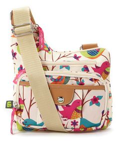 730f07738e33 Look at this Lily Bloom Tweety Twig Upside Crossbody Bag on  zulily today!  Lily