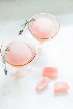 Elderflower Slushie Cocktail