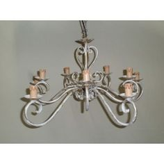 Wrought Iron Chandelier. Customize Realisations. 247