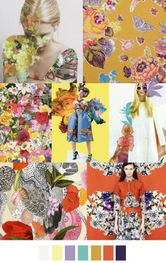 FASHION VIGNETTE: TRENDS // PATTERN CURATOR - PRINT INSPIRATIONS SS 2016