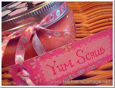 Yum Scrub... Fall scented hand scrub