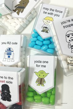 Star Wars Tic Tac Valentine's from The Idea Room