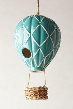 Anthropologie Air Balloon Birdhouse #anthroregistry