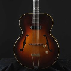 Vintage 1949 Gibson ES 150 Sunburst Hollow Body Electric Guitar w Original HSC