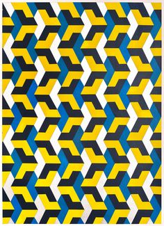 Gianluca Franzese, 'Yellow Chevron,' 2015, K. Imperial Fine Art