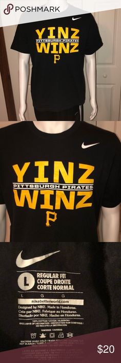 e5fdff12c Nike Pittsburgh Pirates Graphic T-Shirt Nike Pittsburgh Pirates Graphic T- Shirt Yinz Winz - Perfect for any Yinzer bucs fan. Lets go buccos!