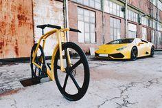 My two wheeled Lambo | Yanko Design