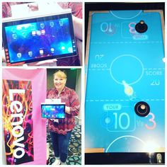 Super intrigued by these innovative products from @lenovo at @typeaparent #typeacon this morning #Lenovo #tech #gaming