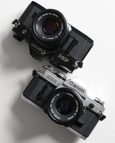 """Often known as one of the best """"beginner cameras"""", whatever """"beginner"""" means. - The Canon AE-1 is a solid performer in its own right with handy features such as shutter priority, and one of the nicest viewfinders we've ever looked through here at @__305c. And not to mention, it holds our top spot for the best SLR shutter slap. - Available now via our web store (link in bio) - #305c #CanonAE1"""