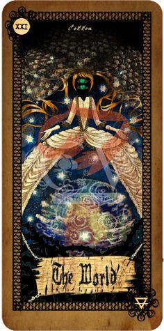 Tarot card - The World | Cotton's Blog
