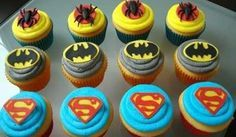 Ecco a voi una gustosissima  #ricetta: i bellissimi #cupcake dei supereori per bambini.