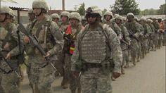 Army National Guard Basic Training Footage