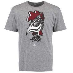 South Carolina Gamecocks adidas Big Retro Tri-Blend T-Shirt - Gray - $22.99