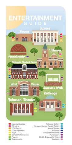 Winthrop University InfoGraphic-West Center was in the works of being contracted when my time schooling & working at Winthrop was through, & DiGiorgio Student Center wasn't there either. I have really been wanting to go back to see all the changes.