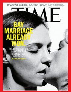 Time Magazine Gay Marriage Lesbian
