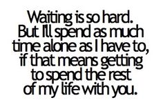 Distance is so tough for a military couple but I love my soldier to the moon and back!
