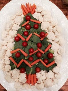 Awesome veggie tray idea