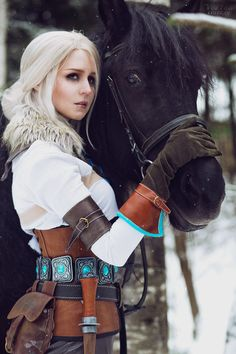 The Witcher 3: Wild Hunt - Ciri cosplay by ver1sa on DeviantArt