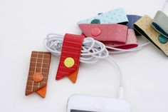 Cord Cable Organizers. $2.50, via Etsy.