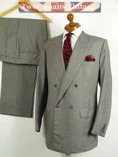 Savile Row bespoke SILK jacket Kilgour French & Stanbury mens 44L ...