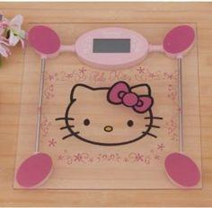 #Hello #Kitty digital bathroom scale