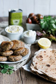 Superfood Tortillas mit Quinoa Falafel und Cashew-Dip, #superfood, @florette_de