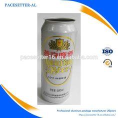large capacity aluminum can 500ml alu beer can