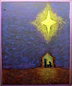 Chalkboard drawing - christmas - first grade - waldorf
