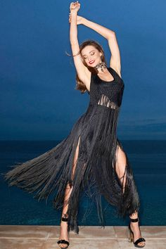 Miranda Kerr covers the February issue of BAZAAR. See the full fashion shoot here: