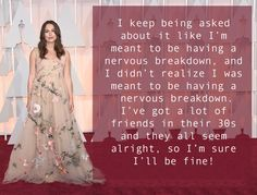 Keira Knightley turns 30 today and she has this refreshing approach to her big birthday: | Keira Knightley Couldn't Give A Crap About Turning 30